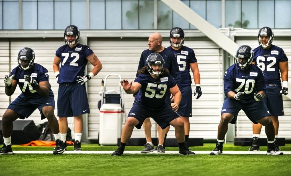Seattle Seahawks NFL Football Rookie Minicamp